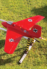 NEW DELUXE Me-163 Komet Scale RC Glider