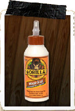 Gorilla Wood Glue  236mls of  STRONG!