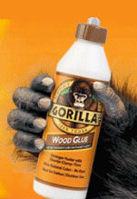 Gorilla Wood Glue  118mls of  STRONG!