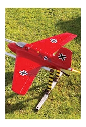 <b>DELUXE</b> Klima Me-163 Komet <br />Scale RC Glider