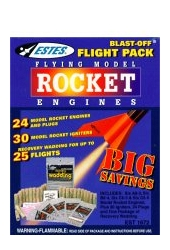 Blast Off Flight Pack<br />Two Dozen As Bs Cs