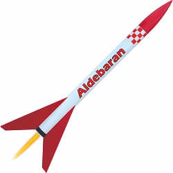 <b>NEW</b> Aldeberan  <br />Classic Model Rocket Kit 1